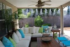 outdoor patio misting system